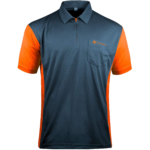 Target Coolplay Hybrid 3 Shirt Stahlblau & Orange