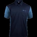 Target Coolplay Hybrid 3 Shirt Marineblau & Hellblau