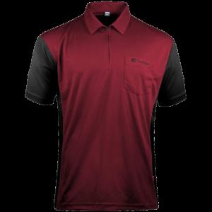 Target Coolplay Hybrid 3 Shirt Rubinrot & Schwarz