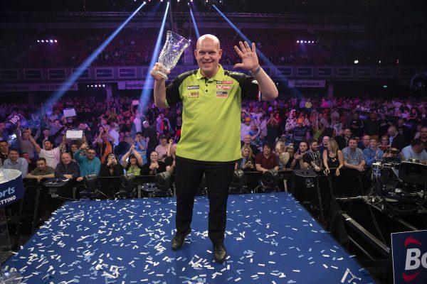 MvG gewann alles was es zu gewinnen gibt, darutner auch der World Grand Prix und drei WM-Titel (Bild: Lawrence Lustig/PDC)