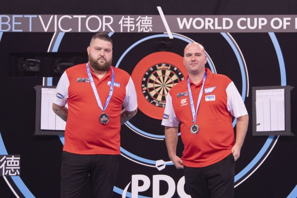 England - Viermal Champion, 2020 allerdings das Nachsehen (Bild: PDC Europe/Kais Bodensieck)