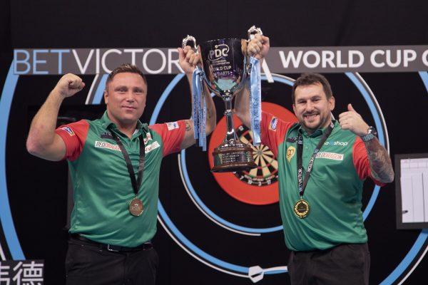 Wales (Price/Clayton) ist World Cup Champion 2020 (Bild: PDC Europe/Kais Bodensieck)