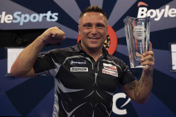 Grand Prix Champion 2020 Gerwyn Price (Bild: Lawrence Lustig/PDC)