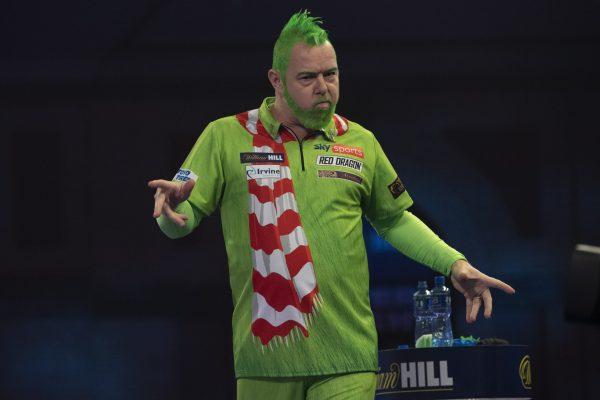 Wright startet als Grinch in die WM 2021 (Bild: Lawrence Lustig/PDC)