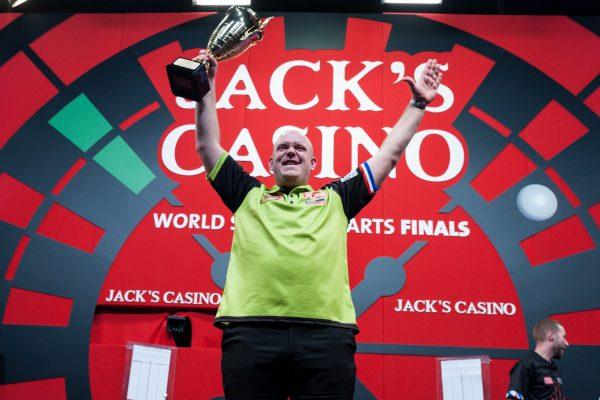 Rekordchampion Michael van Gerwen (Bild: Kelly Deckers/PDC Europe)