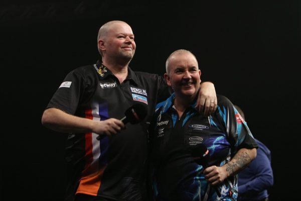 Die größte Rivalität der 2000er - Barney und Taylor (Bild: PDC Europe)